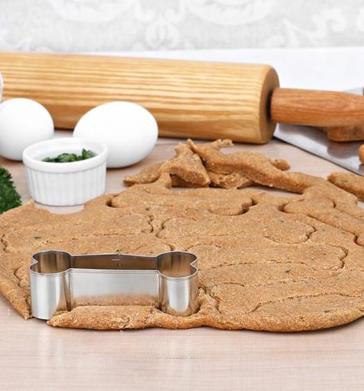 Pumpkin & Peanut Butter Dog Biscuit Treat Recipe