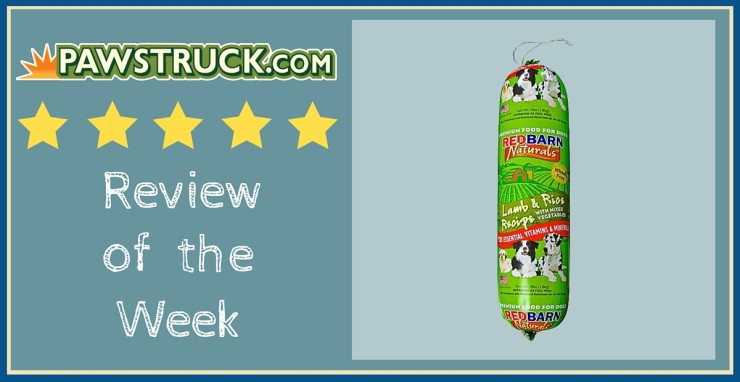 Click here to read a Pawstruck customer review of Redbarn Lamb & Rice Roll Dog Food!