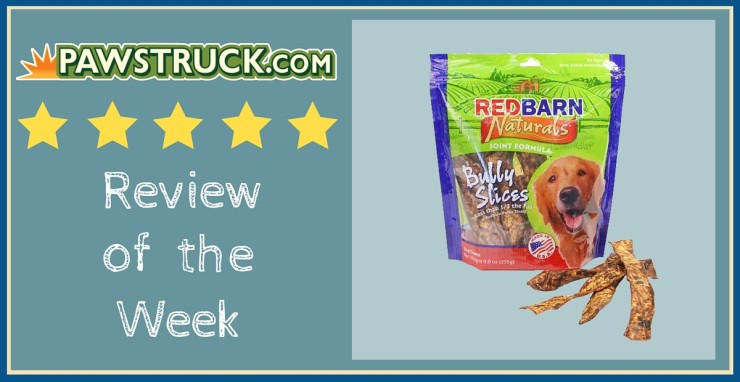 Click here to read a Pawstruck customer review of Redbarn Bully Slices Dog Treats!