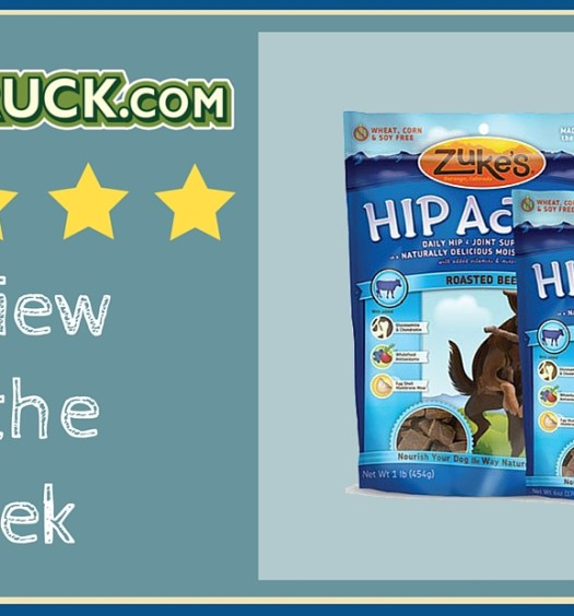 Click here to read Pawstruck's Review of the Week: Zuke's Hip Action Treats Beef.