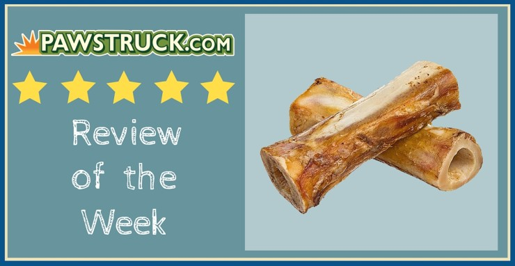 Click here to read Pawstruck's Review of the Week: Meaty Dog Bones (Large).