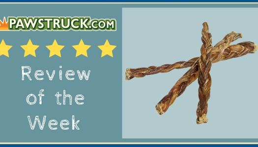 Review of the Week: Braided Pig Pizzle Dog Treats (6″)