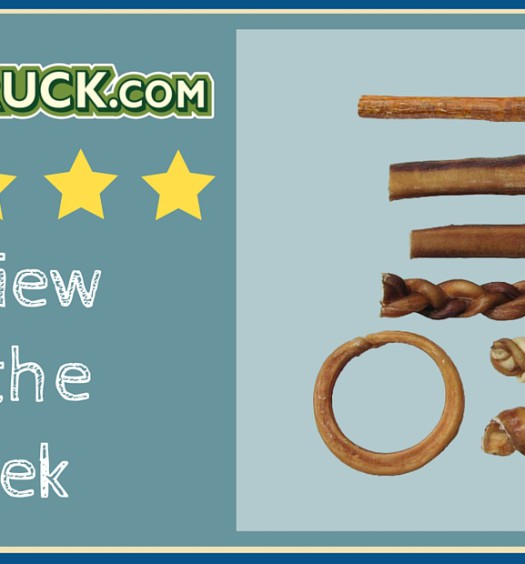 Click here to read a Pawstruck customer review of our natural chew Bully Stick variety pack.