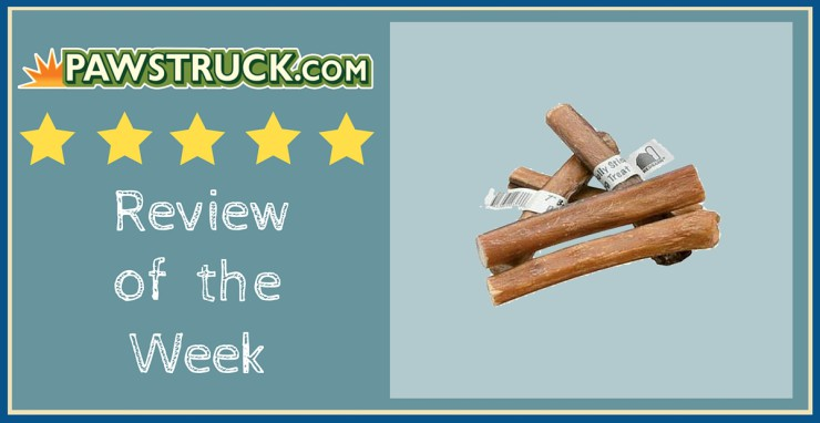 Click here to read a Redbarn Bully Sticks dog treat review from a Pawstruck.com customer.