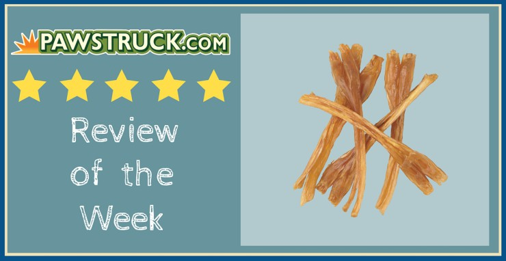 Click here to read a Pawstruck customer's review of our Beef Tendon Dog Chews.