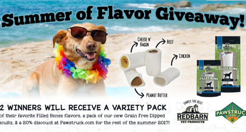 Summer of Flavor Dog Giveaway